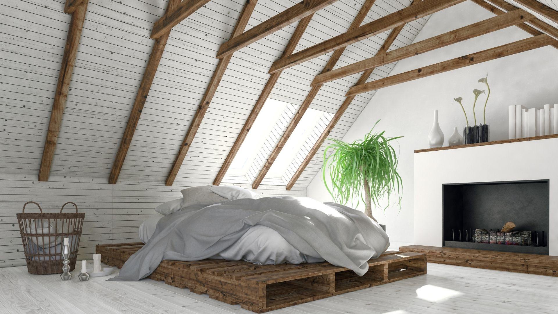jak zrobić pokój na strychu