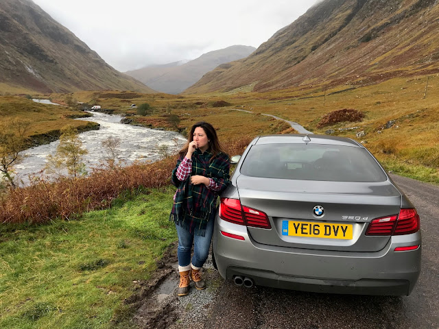 Searching for Skyfall in Glen Etive