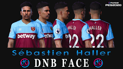 PES 2020 Faces Sebastian Haller by DNB