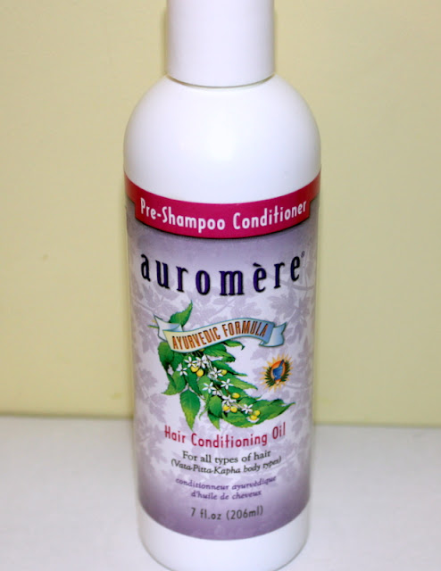 Auromere, Pre-Shampoo Conditioner, Hair Conditioning Oil