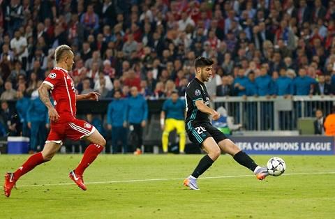 Định mệnh gọi tên Asensio thuộc về Real Madrid