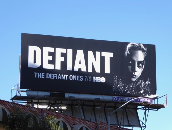Lady Gaga Defiant Ones billboard