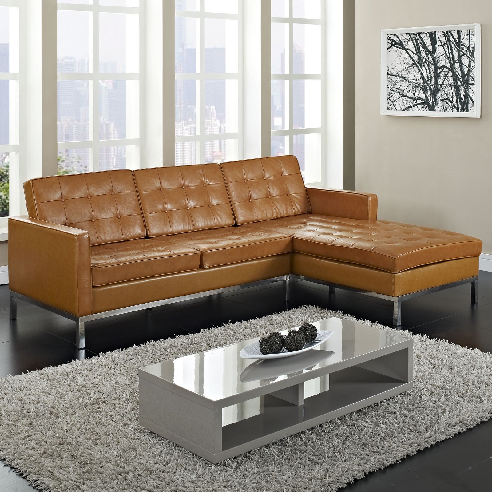 Simple review about living room furniture small sectional sofa with chaise - Small couch with chaise ...