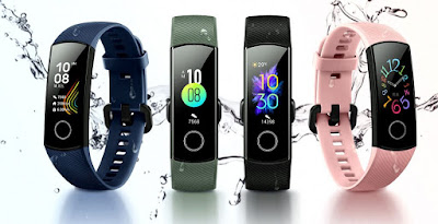 Honor Band 5 with AMOLED color display Launched in China