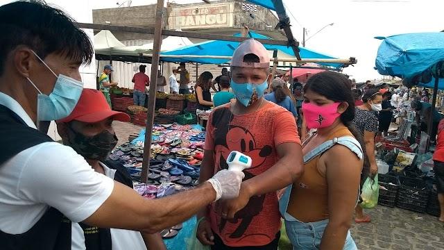 Vigilância Sanitária do município realiza inspeção na feira livre.