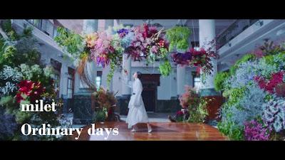 milet - Ordinary days lyrics terjemahan arti lirik kanji romaji indonesia translations 歌詞 info lagu EP たたかう!交番女子~ soundtrack drama sinopsis