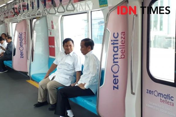 Ternyata Ada JK di Balik Pertemuan Jokowi dan Prabowo