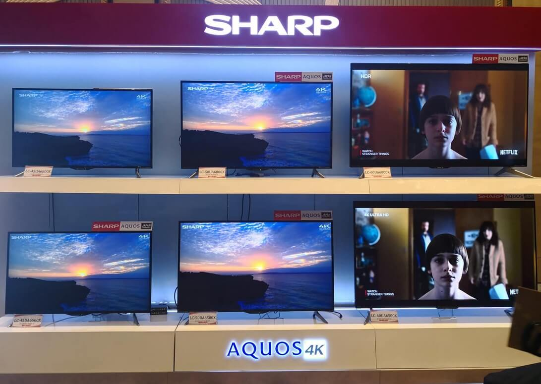 Sharp AQUOS 4K Smart LED TVs