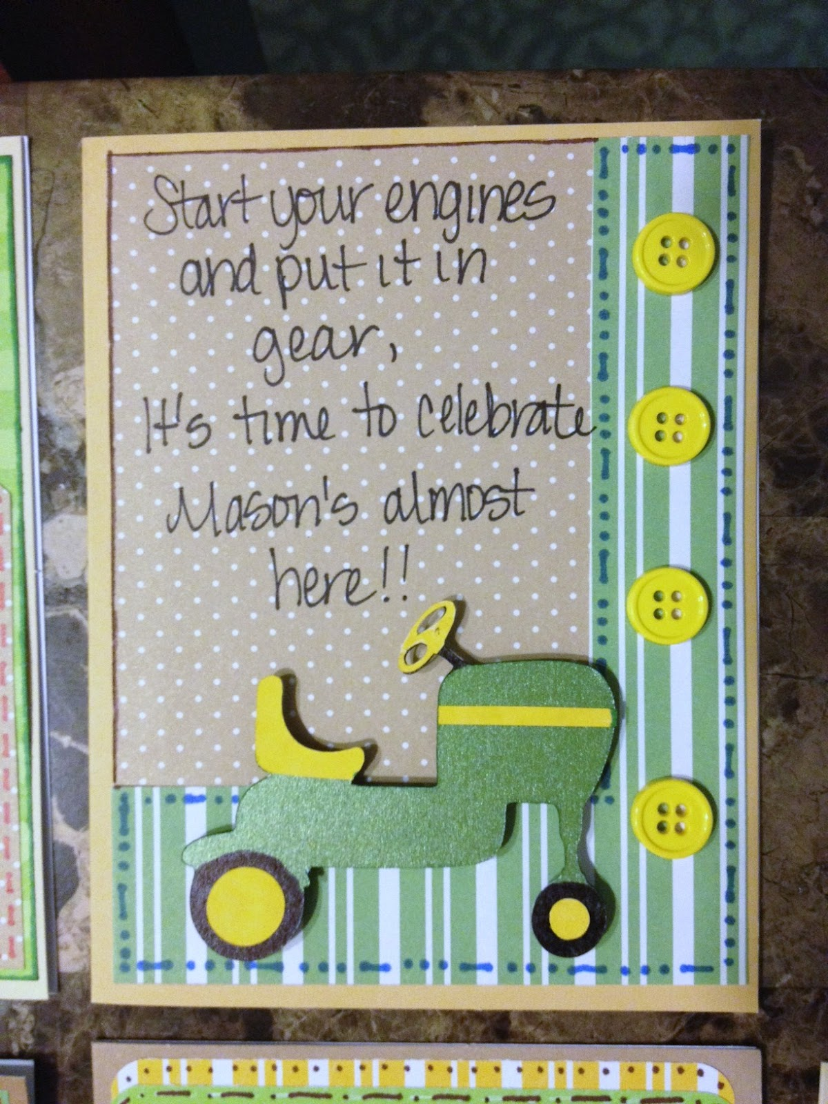 Lmcreations She Cave John Deere Baby Shower Invitations