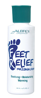 Aubrey Organics Feet Relief review