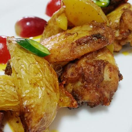 las mejores alitas de pollo al horno marinadas con harisa