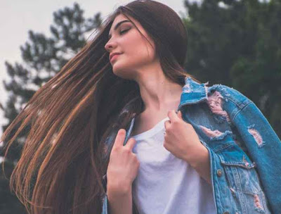 ترطيب الشعر الجاف