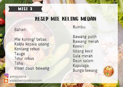 Cara memasak mie keling