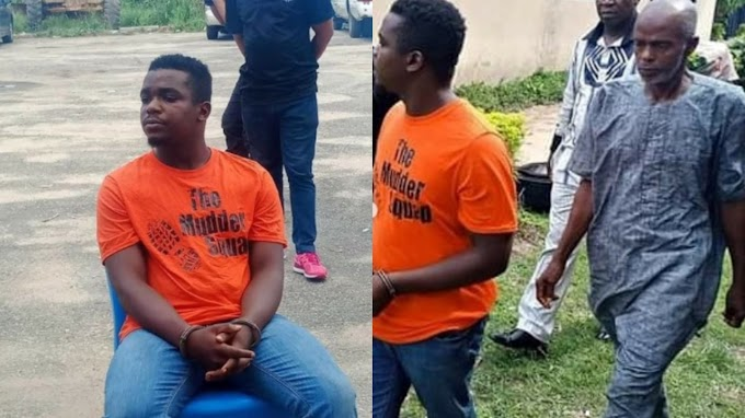 Akwa Ibom Police Parade Uduak Akpan killer Of Umoren (Photos)