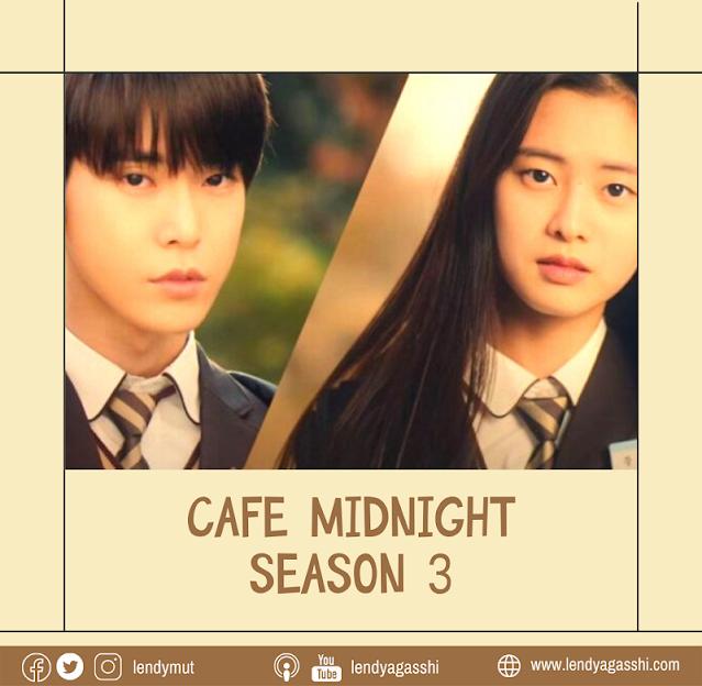 Review dan Sinopsis Web Drama Do Young NCT : Cafe Midnight Season 3