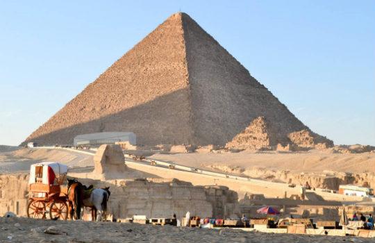 Αιγυπτιακές πυραμίδες που χρονολογούνται από τον άνθρακα