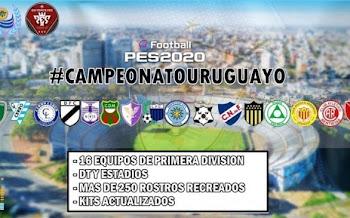 Campeonato Uruguayo | V2 | PES2020 | PS4 | PC