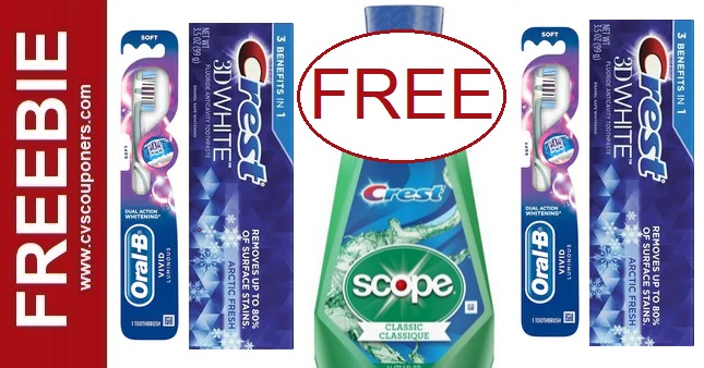 FREE Crest Products CVS Deal 10-4-10-10