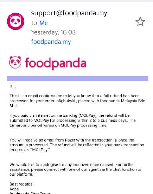 support team food panda
