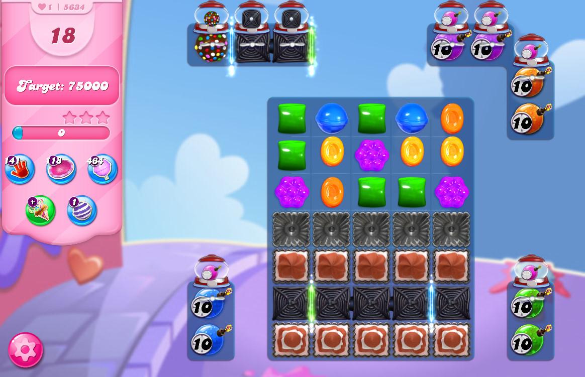 Candy Crush Saga level 5634