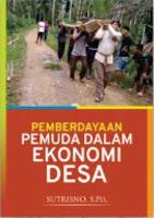 Pemberdayaan Pemuda dalam Ekonomi Desa