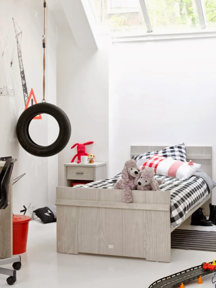 boy room with  furniture from the Netherlands - coming kids