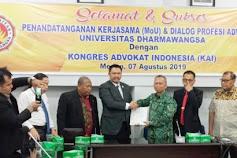 Undhar - Kongres Advokat Indonesia Sepakat Kerjasama