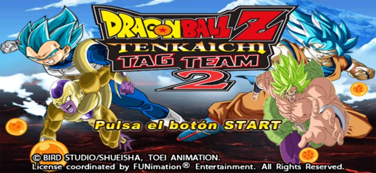 DBZ Tenkaichi Tag Team 2 Mod PSP