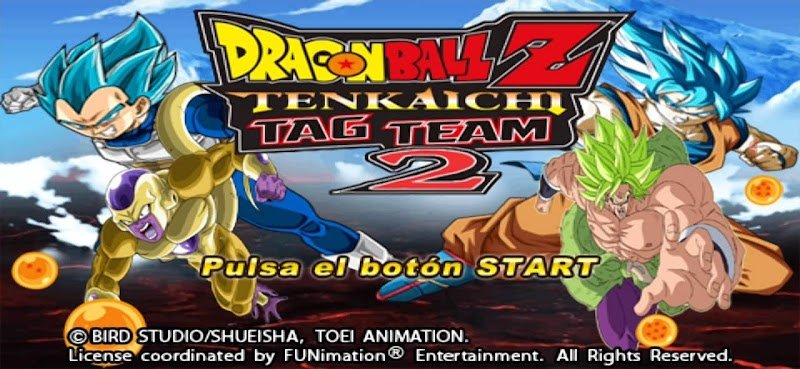 PSP DBZ Game SDBH TTT MOD ISO With HD Permanent Menu Download