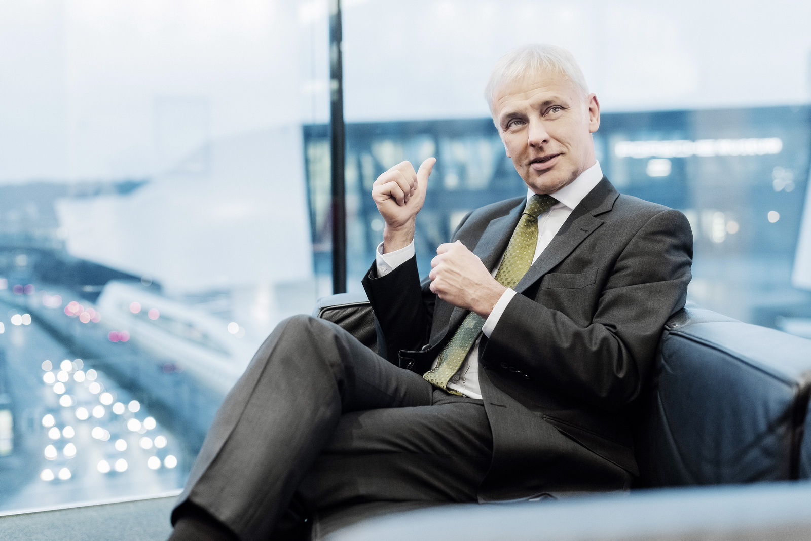 VW CEO Matthias Muller Had No Prior Knowledge Of Dieselgate