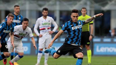 ملخص واهداف مباراة انتر ميلان وسامبدوريا (5-1) الدوري الايطالي
