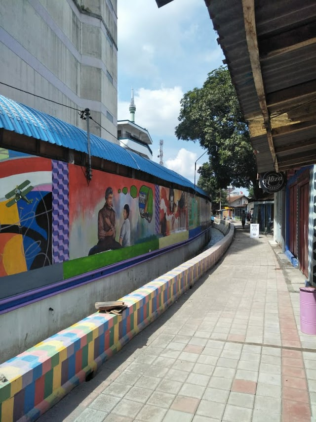 Kampung Pancuran, Kampung Mural yang Berawal dari Kampung Preman