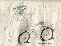 Kartun Sepeda Karya Bakti Setyanta Lucu Abis