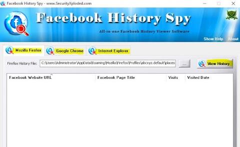 Facebook History Spy 5.0 Download