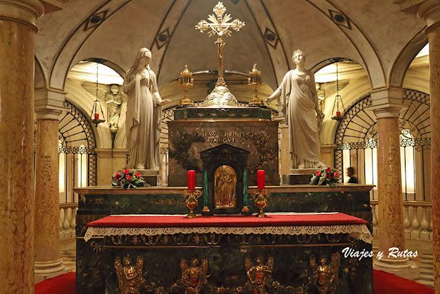 Cripta de la Basílica de Sant'Andrea, Mantua