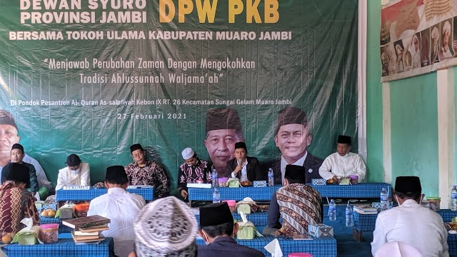 Dewan Syuro PKB Jambi, Gelar Bahtsul Masail di Pesantren Muaro Jambi