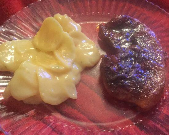 Countrified Hicks Delicious Glazed Sirloin Pork Chop Recipe