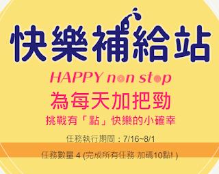 HAPPY GO 快樂補給站 答案 7/16