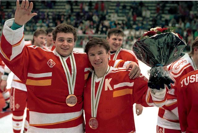Сборная СНГ по хоккею на Олимпиаде 1992