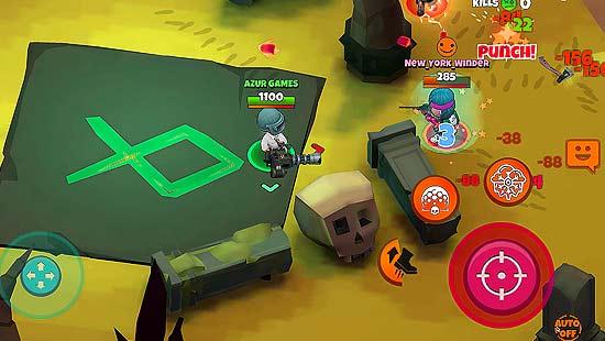 Warriors.io - Battle Royale Action Mod Apk