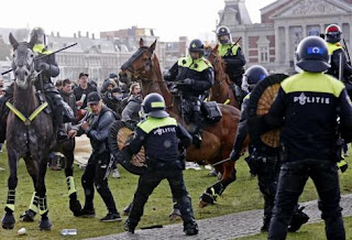 Raging against the curfew: the riots in the Netherlands