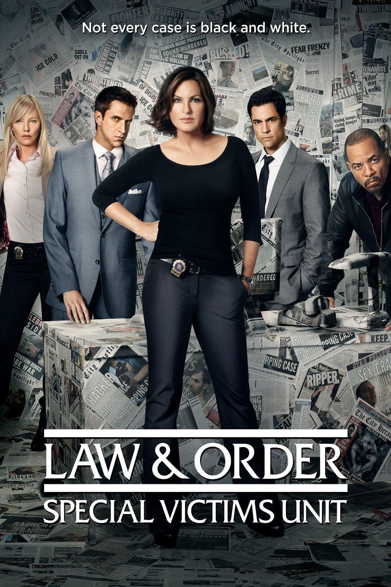 La ley y el orden: UVE (Law & Order: Special Victims Unit) Temporada 1 a la 21 Dual Latino/Ingles