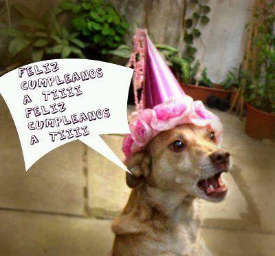 feliz cumpleaños perrito