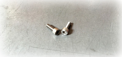 Custom Metric Invar Screws - M2.5 X .45M X 8MM Socket Head Cap Screws in Invar 36 Material