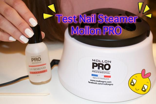 Nail steamer - rewolucja w ściąganiu hybrydy MollonPRO