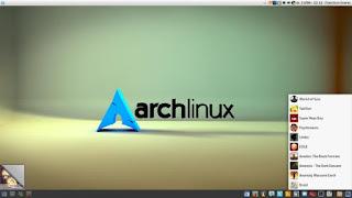 توزيعة Arch Linux البسيطة والخفيفة