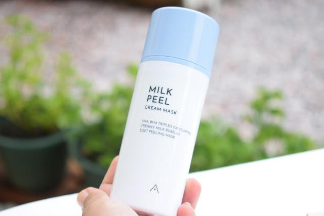 Review : Milk Peel Cream Mask Dari Althea