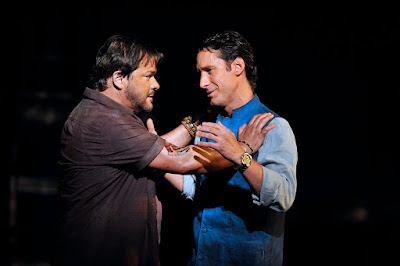 English National Opera - The Pearl Fishers - Jacques Imbrailo, Robert McPherson - (c) Robbie Jack