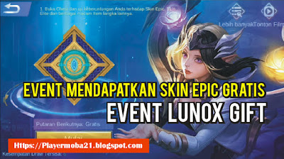 Event Mendapatkan Skin Epic, Elite, Normal Gratis Mobile Legends