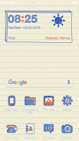 Theme Oppo Paper OS 3 Android Mboton